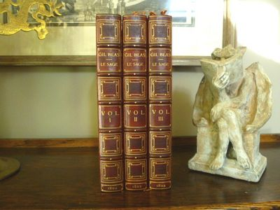 London: Vernor and Hood, 1802. Three volumes. Translated from the French by T.S. Smollett. The first...