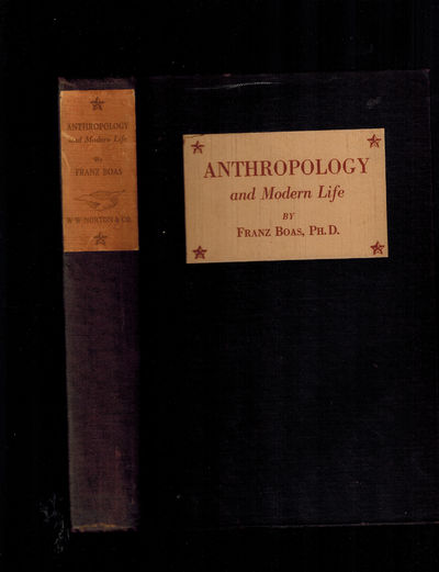New York: W W Norton & Co Inc, 1928. Boas' classic treatise on race and culture, RARE in the origina...