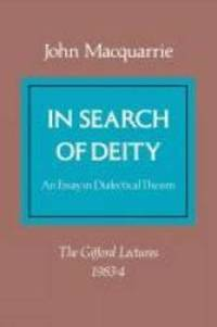 In Search of Deity (Gifford Lectures)