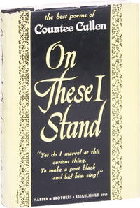 image of On These I Stand: An Anthology of the Best Poems