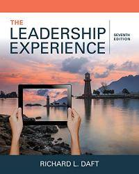Leadership experience by daft richard l image of the leadership experience fandeluxe Gallery