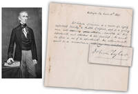 John Tyler Rare ALS as VP, Only 2 or 3 Others Have Sold Dated in this 30 Day Period