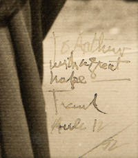 Frank Lloyd Wright Enormous Signed Photo