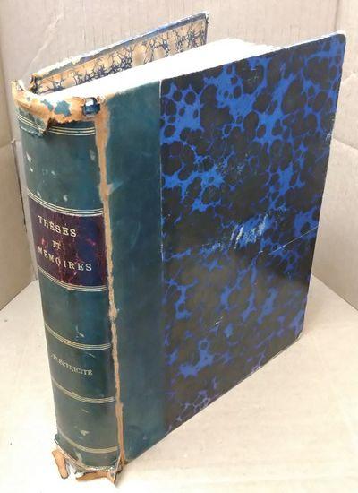Paris: Gauthier -Villars et fils, 1892. Hardcover. Quarto; G+ condition hardcover; Text in French; Q...