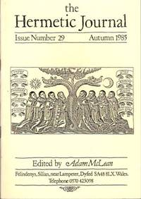 THE HERMETIC JOURNAL, NO. 29; Autumn 1985 by  Adam; Andrew Mouldey McLean - 1985 - from By The Way Books and Biblio.com