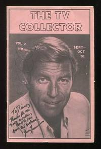 The TV Collector (September-October 1991 issue) [cover: James Franciscus]