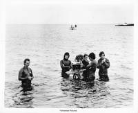 Jaws (Original photograph of Steven Spielberg and crew on location for the 1975 film)