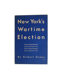 New York's Wartime Election