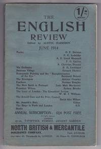 """The English Review, June 1914 (First publication of """"The Stratagem"""" by Aleister Crowley, and """"Vin Ordinaire"""" by D.H. Lawrence) by  et al  F.G. Layton - Paperback - First Edition, First Printing - 1914 - from GatesPastBooks (SKU: 931195)"""