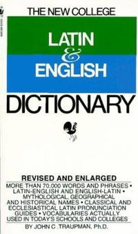 image of New College Latin and English Dictionary