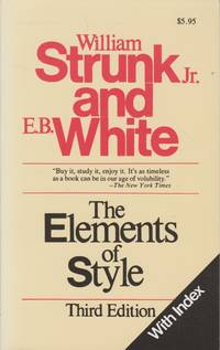 The Elements of Style, 3rd ed.
