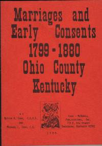 Marriages and Early Consents, 1799-1880, Ohio County, Kentucky