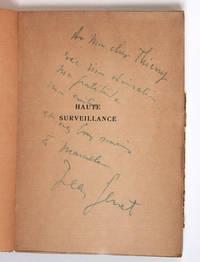Haute surveillance [envoi autographe signé à Thierry Maulnier]