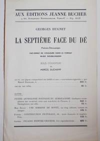 image of Prospectus for La Septieme Face Du De