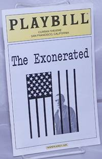 image of Playbill: The Exonerated; Curran Theatre, San Francisco