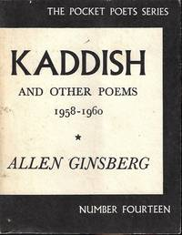 image of KADDISH and Other Poems 1958-1960: The Pocket Poets Series Number Fourteen