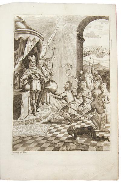 Mexico: Imprenta del Superior Gobierno, del Br. D. Joseph Antonio de Hogal, 1770. Folio. (10 1/2 x 7...