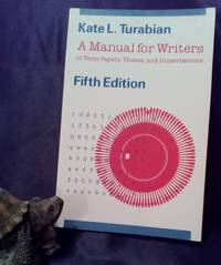 image of A Manual for Writers of Term Papers, Theses, and Dissertations, Fifth Edition