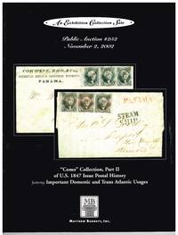Como Collection part 2 of US 1847 Issue postal history