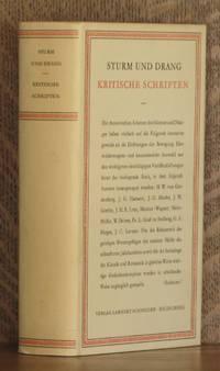 STURM UND DRANG - Kritische Schriften