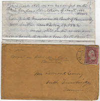 Letter from Union Corporal to his brother from General Lee's plantation on the Pamunkey River describing a massive Union encampment as well as recounting the Battle of Williamsburg that had occurred about a week earlier