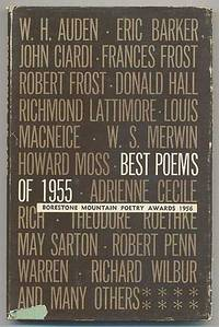 Best Poems of 1955: Borestone Mountain Poetry Awards, 1956
