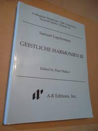 Capricornus Geistliche Harmonien III (Vol 13)