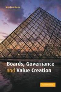 Boards  Governance and Value Creation: The Human Side of Corporate Governance