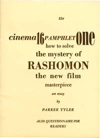 How to Solve the Mystery of Rashomon (Original Pamphlet)