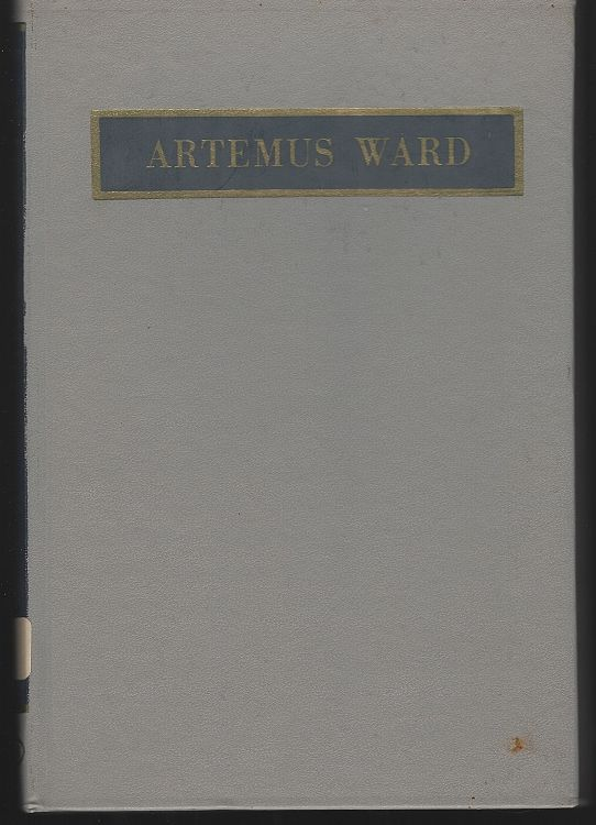 Image for ARTEMUS WARD