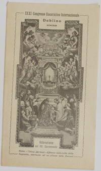 XXXI CONGRESSO EUCARISTICO INTERNAZIONALE DUBLINO 1932