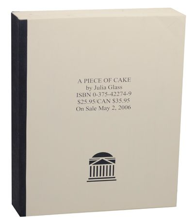 New York: Pantheon Books, 2006. First edition. Softcover. Padbound proof that measures 8.5