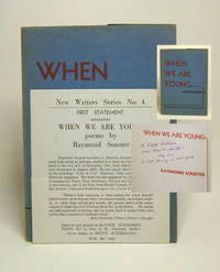 WHEN WE ARE YOUNG by  Raymond Souster - Signed First Edition - 1945 - from TBCL  The Book Collector's Library and Biblio.com