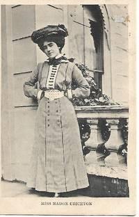 Edwardian Era Stage Actress, Miss Madge Chrichton on 1910s Empire Series Postcard