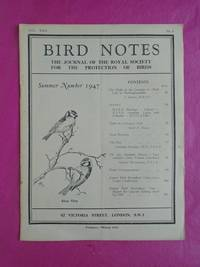 BIRD NOTES AND NEWS Vol. XXII  Summer Number 1947 No. 6