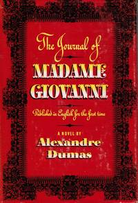 The Journal of Madame Giovanni by  Alexandre Dumas - Hardcover - Second Printing - 1944 - from Bookshop Baltimore (SKU: 13093)