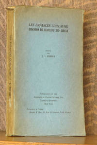 LES ENFANCES GUILLAUME - CHANSON DE GESTE DU XIIIe SIECLE