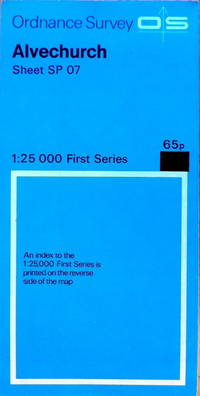 1:25,000 First  Series: Alvechurch sheet SP 07 by Ordnance Survey - Reprint of 1952 edition - 1958 - from Acanthophyllum Books and Biblio.com