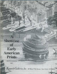 (cover title) A showcase of early American prints.