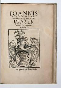 De Arte Cabalistica Libri Tres