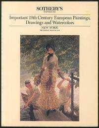 Sotheby's Important 19th Century European Paintings, Drawings and Watercolors