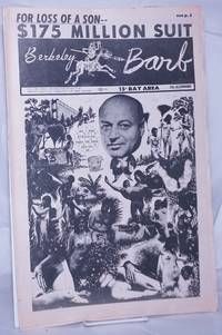 image of Berkeley Barb: vol. 6, #20 (#144) May 17-23, 1968: $175 Million Suit