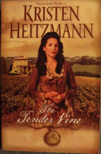 2002. HEITZMANN, Kristen. THE TENDER VINE. Minneapolis, Minnesota: Bethany House Publishers, . 8vo.,...