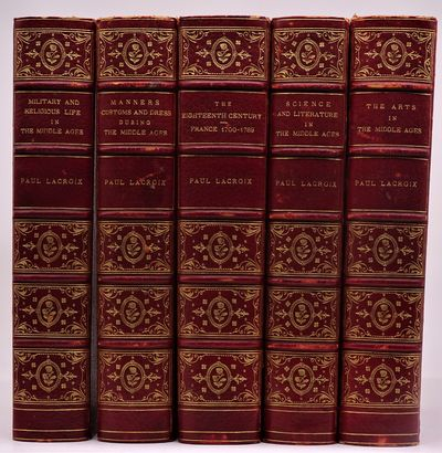 London: Bickers & Son , 1878. Five volumes, the complete set and uncommon thus, in contemporary sign...
