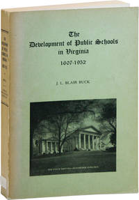 The Development of Public Schools in Virginia, 1607 - 1952