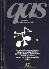 QAS Quaderni di azione sociale Anno 1989 n. 67 - 72
