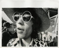 Original press photograph of Mick Jagger in Copenhagen, 1970