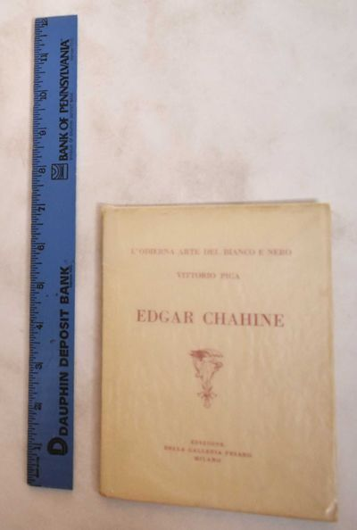 Milano, 1921. Softcover. VG Bookblock shows some age toning. White cloth wraps with red title letter...