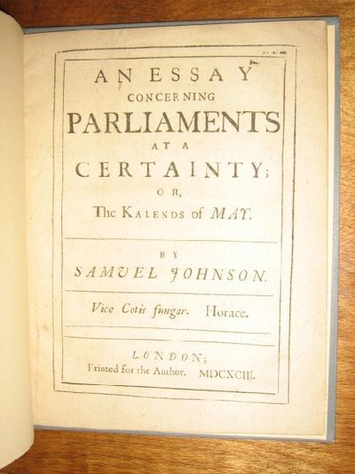 the two schools of thought concerning parliamentary power and opposition before 1640 The formal phrase 'queen in parliament' is used to describe the british legislature, which consists of the sovereign, the house of lords and the house of commons the queen's duties include opening each new session of parliament, granting royal assent to legislation, and approving orders and.