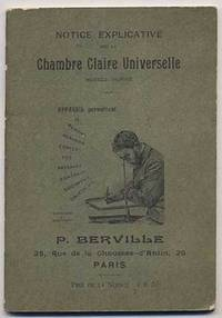 Cover title notice explicative sur la chambre claire for Chambre claire universelle